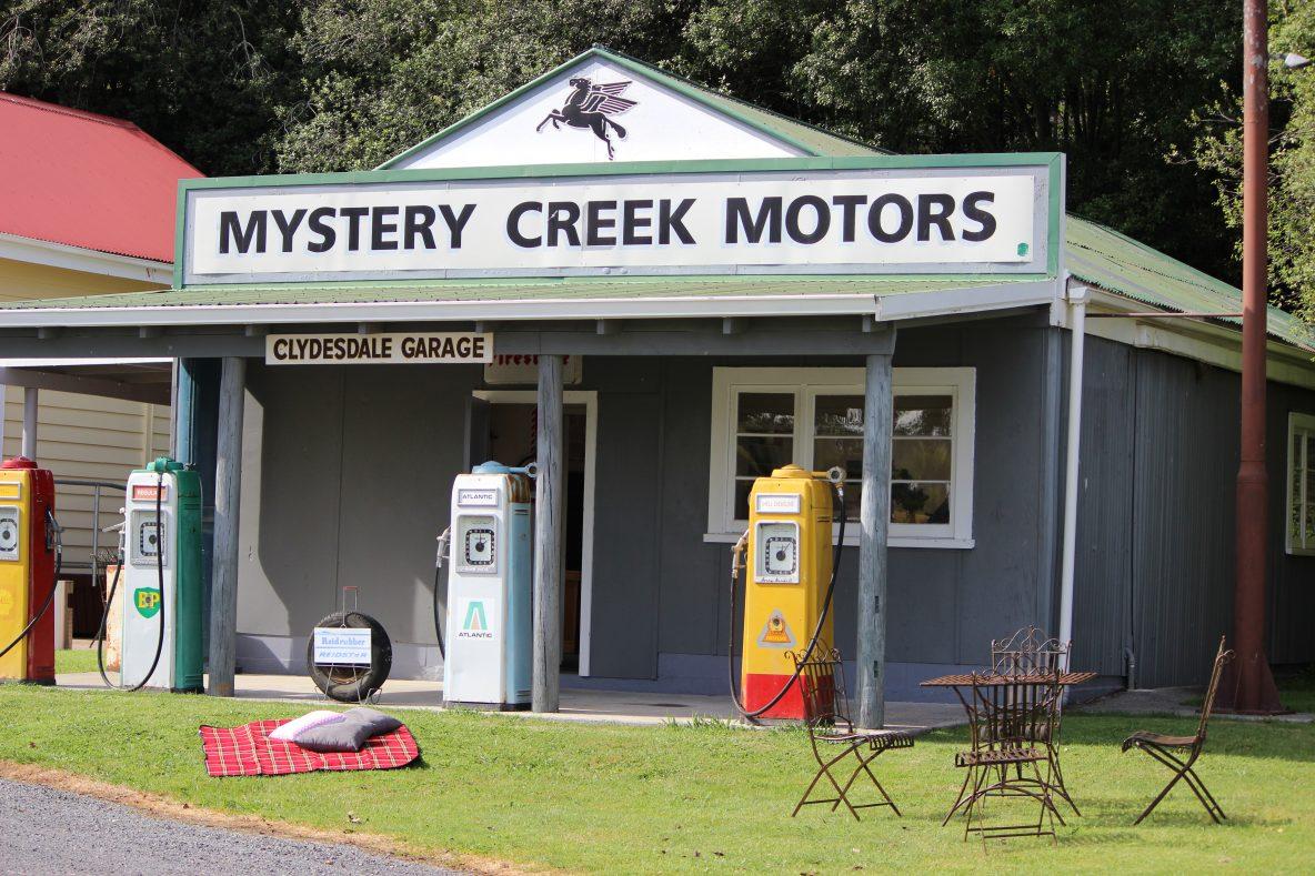 mystery creek village